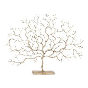 "Metal Tree Sculpture, 32""x24"""