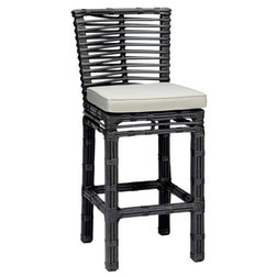Beautiful Contemporary Outdoor Bar Stools And Counter Stools by Sunset West Outdoor Furniture