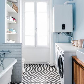 Rénovation d'un grand appartement Lyonnais - Projet Montchat