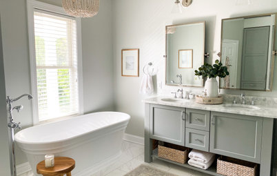 Bathroom of the Week: Timeless Style With an Improved Layout