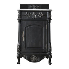"St. James 24"" Single Vanity, Empire Black"