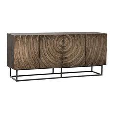 Milton Wood And Metal Sideboard