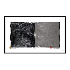 Contemporary Modern Abstract Fine Art, MASQUERADE, by Charles Sabec, 2014, Black