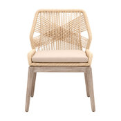 Loom Dining Chairs, Set of 2, Sand