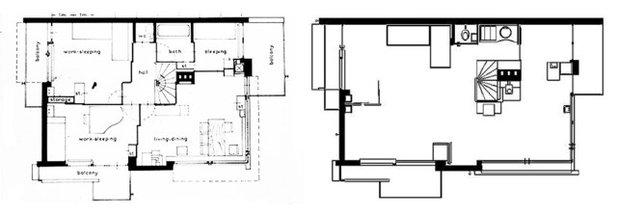 Architekturikonen Das Rietveld Schröder Haus