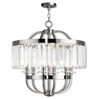 Ashton 6-Light Chandelier, Brushed Nickel