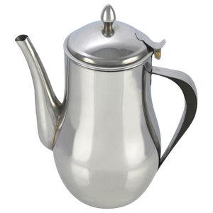 0.7 L, 24 Oz, Stainless Steel Tea Pot