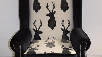 Bespoke High back Wing Chair