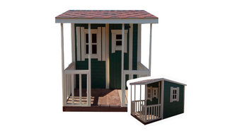 Детский домик в скандинавском стиле