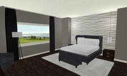 Sherbourne Circle - Master Bedroom 3D Drawing