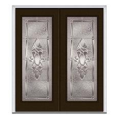"""Heirloom Master Full Lite Fiberglass Double Door 74""""x81.75"""" RH In-Swing"""