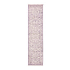 Unique Loom Purple Olympia New Classical 2'7x10' Runner Rug
