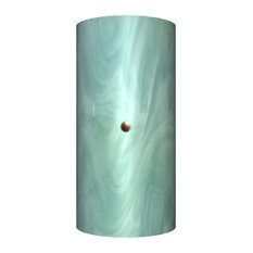 Jezebel Radiance Narrow Tourmaline Sconce, Seafoam Green