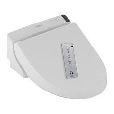 Toto C200 Elongated-Bowl Washlet Seat, Cotton White, Sw2044#01