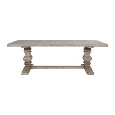"Sagrada Dining Table 94"" Sierra Grey"