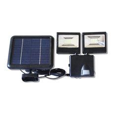 Motion Sensor Light Outdoor Outdoor Lights | Houzz:Solar Smart Creations - Solar Dual-Head Flood Light With Motion Sensor -  Outdoor Flood,Lighting