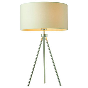 Tri Table Lamp, Chrome, 40 W