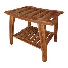 Top Shop Teak Wood Shower Bench on Houzz Deals | Houzz