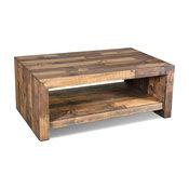 Fulton Rustic Solid Wood Coffee Table