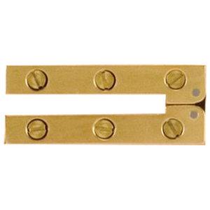 """2/"""" National MFG Vintage Metal Door//Box Hinge Co"""