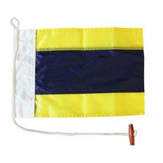 Letter D, Nautical Code Signal Nylon Flag