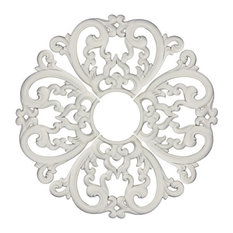MD-7099 Ceiling Medallion, Piece, White