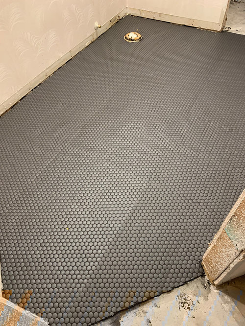 Hi Am I Being Picky Or Is This Bad Penny Tile Installation