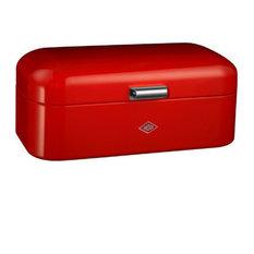 Wesco Grandy Bread Bin, Red