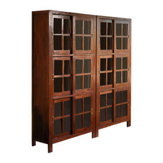Craftsman China Cabinets and Hutches | Houzz