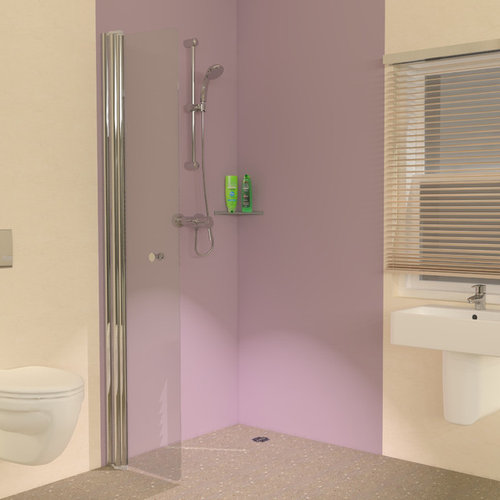 Hinged Wet Room Panel