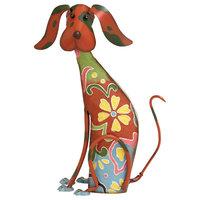 Gidget the Garden Art Dog