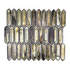 "Fargin 0.9""x3.1"" Mosaic Tile, Golden Crust"