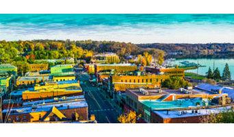 Panorama of downtown Stillwater, Minnesota