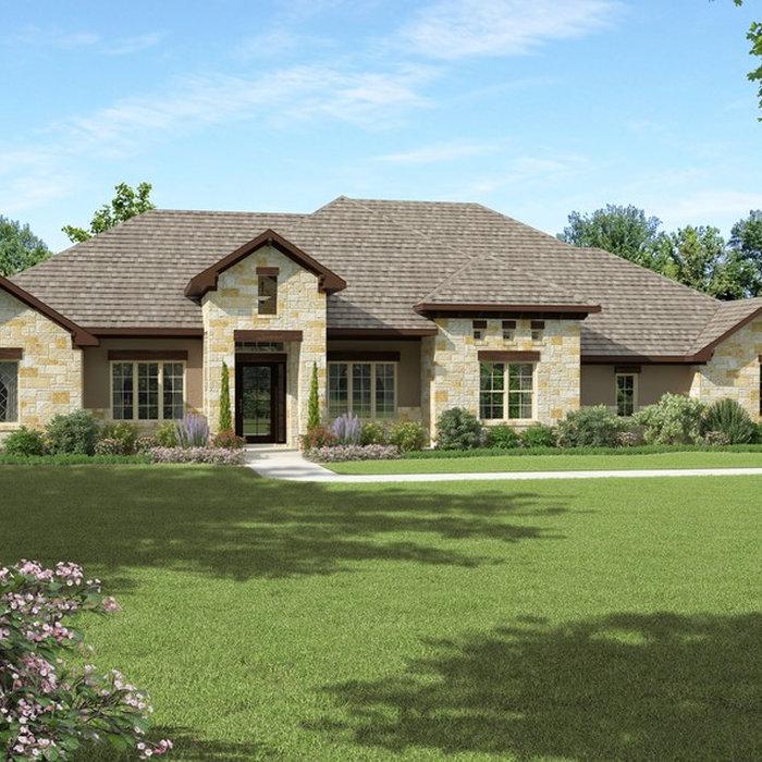 Custom Texas Hill Country Home