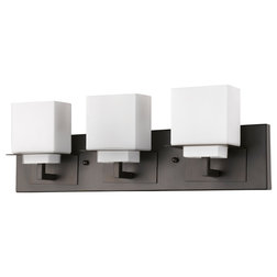 Fabulous Contemporary Bathroom Vanity Lighting by Acclaim Lighting