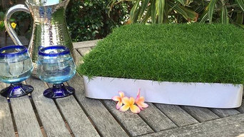 Tablescape projects using our unique Plant Tiles - Wow!