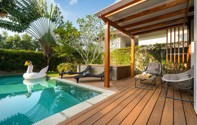 Backyard of the Week: A New Pool and Spa, and Room to Lounge