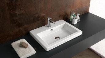 Cangas 60x45 Fine Fireclay Wash Basin