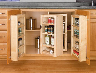 Kitchen Cabinet Accessories for Universal Design