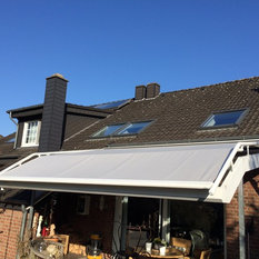 Schon Wintergartenmarkise Mit Bogen Auf Terrassendach. Perfekter Sonnenschutz.    Markisen U0026 Sonnensegel