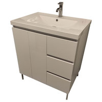 "30"" Modern Bathroom Vanity White"