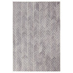 Sams International - Abacasa Everest Hillary Blue and Ivory Area Rug, 5'x8' - Hand crafted in India from soft and durable wool, the Everest area rugs feature a durable non slip cotton backing. The perfect addition to add a pop of texture and warmth to any space. The neutral colors will blend well with virtually any decor while creating a stylish foundation for your space.