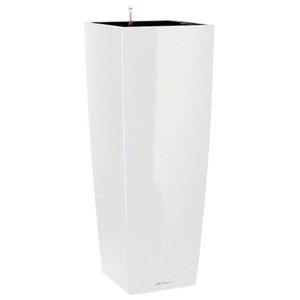 Cubico Alto Self Watering Planter, 105x40x40 CM, White