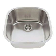 Polaris P0202 Square Stainless Steel Bar Sink