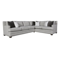 Universal Upholstery Curated Riley Sectional Left Arm Sofa Right Arm Corner