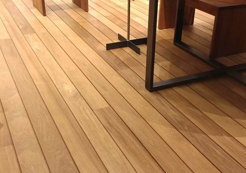Itu0027s Installed As An Interior Floor, Which Is Odd Because The Product  Appears To Be A Decking Or Siding Product.