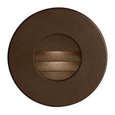 Dainolite DLEDW-330-BZ 3.3W 80 Degree 1 LED In/Outdoor Round Wall Light