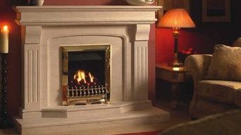 Limestone Benson Fireplace 54 Inch