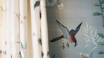 DeGournay Wallpaper Master Bedroom