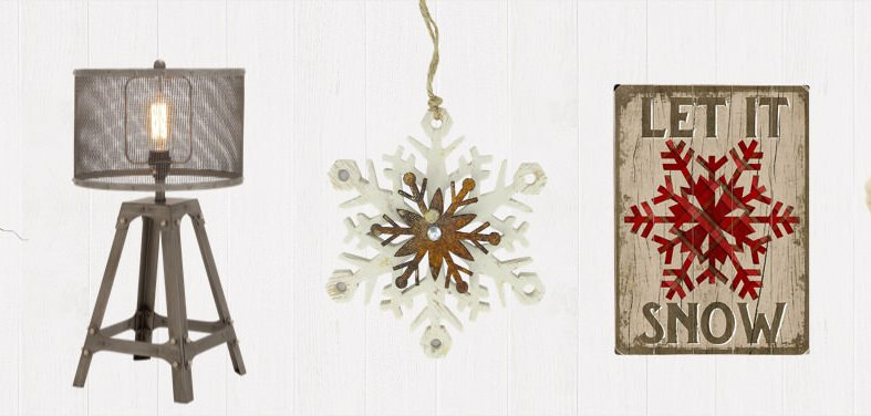 Shop houzz up to 70 off rustic winter decor for Home decor 70 off